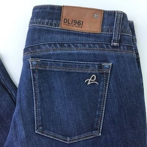 DL1961 Milano Boot Cut Zeppelin Blue Jeans 28